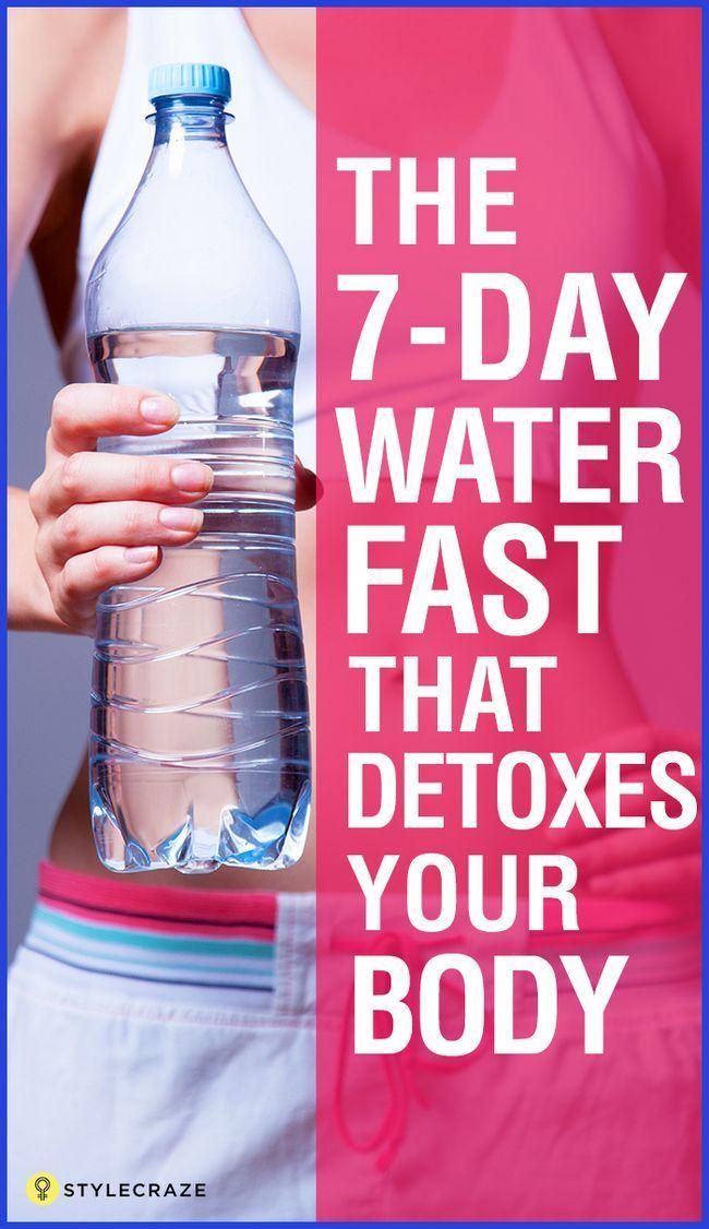 10 Avantages étonnants du fast eau 7 jours