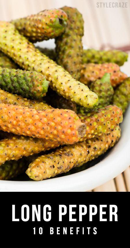 10 Avantages étonnants du poivre long (pippali)