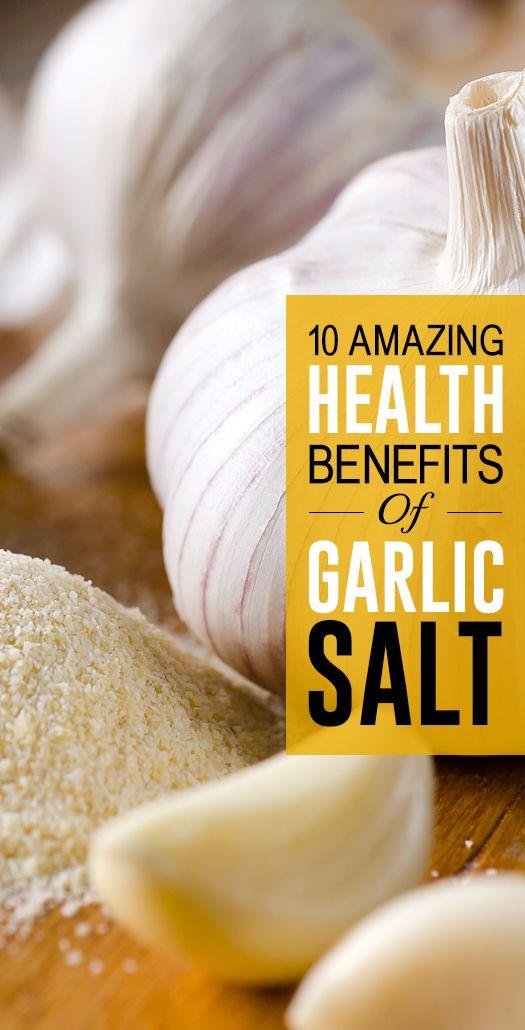 10 Avantages pour la santé incroyable de sel d`ail