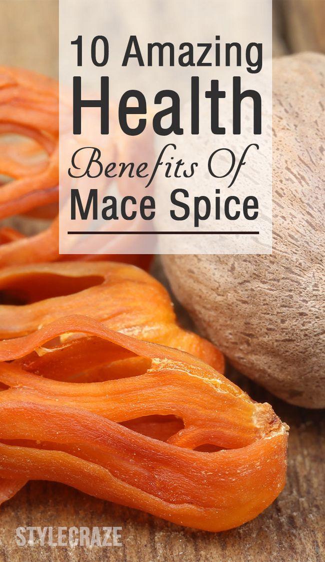 10 Avantages pour la santé incroyable d`épices Mace (javitri)