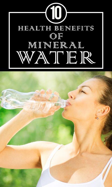 10 Avantages pour la santé incroyable de l`eau minérale