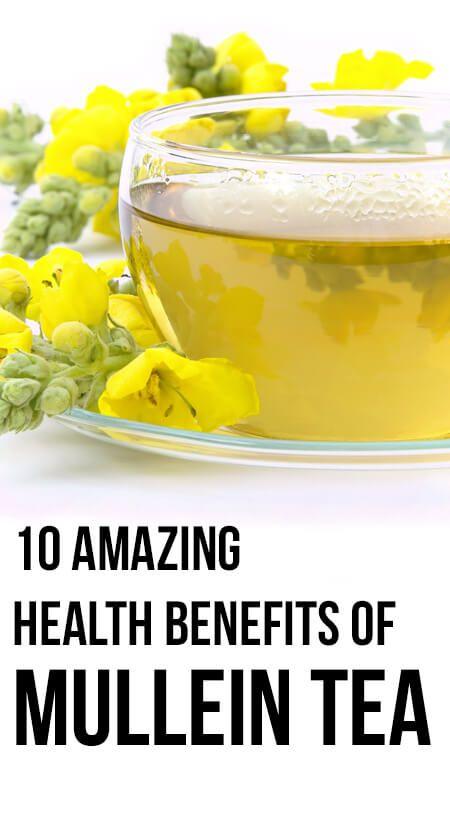 10 Avantages pour la santé incroyable de thé molène
