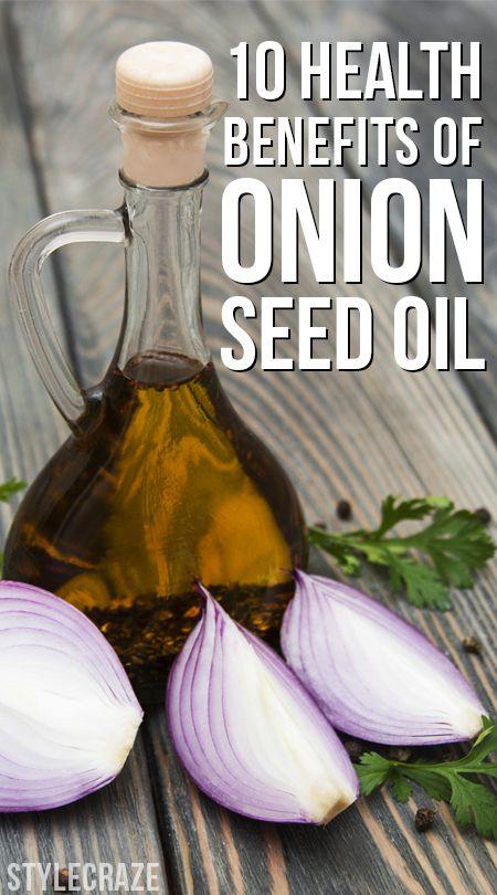 10 Avantages pour la santé étonnante de l`huile de graines d`oignon
