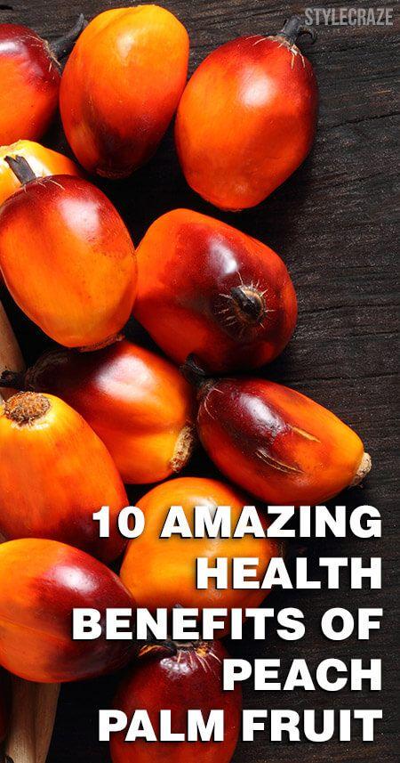 10 Avantages pour la santé incroyable de fruits de palmier pêche