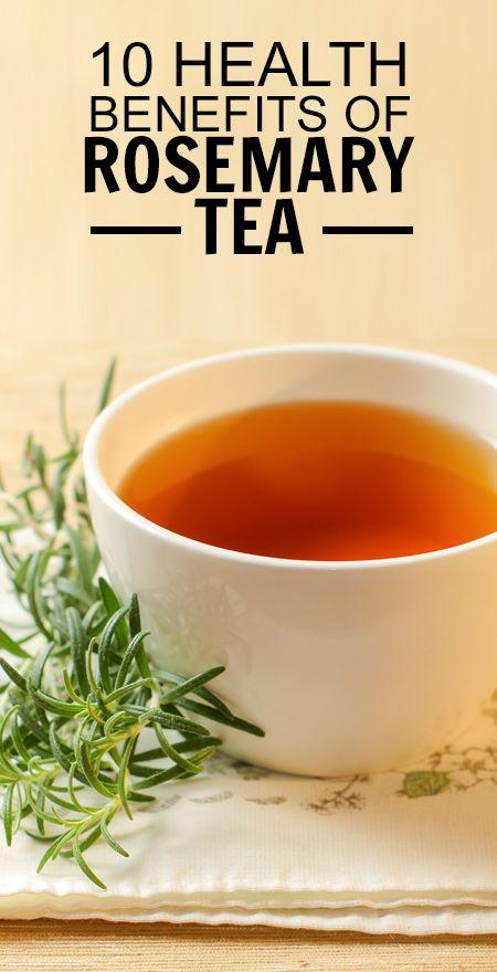 10 Avantages pour la santé incroyable de thé de romarin