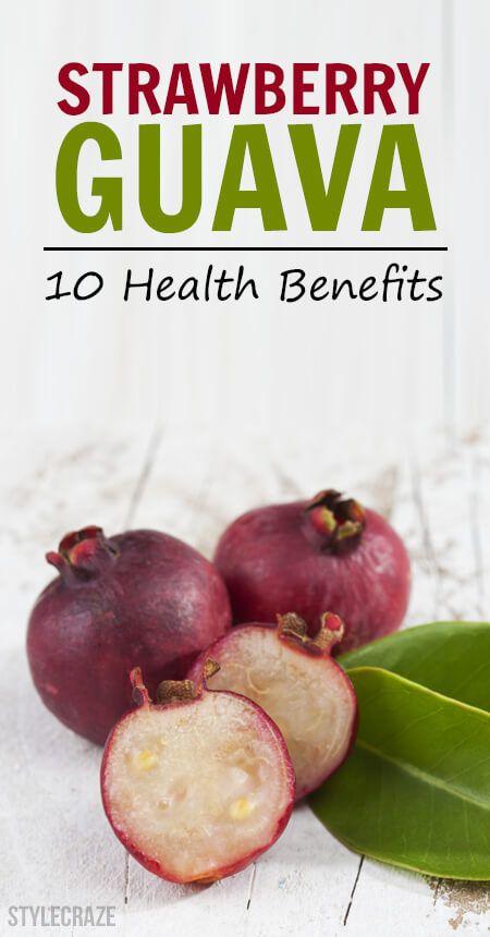 10 Avantages pour la santé incroyable de goyave fraise