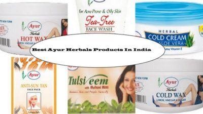 10 Les meilleurs produits Herbals de ayur disponibles en Inde