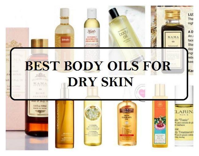 10 Meilleures huiles pour le corps pour les peaux sèches en Inde