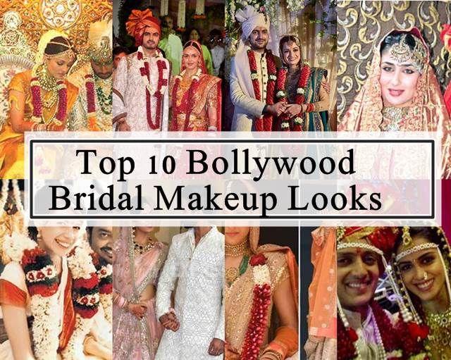 10 Meilleurs looks de maquillage de mariée bollywood