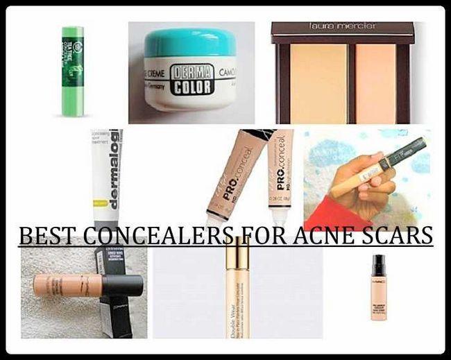 10 Les meilleurs anti-cernes pour les cicatrices d`acné et les imperfections