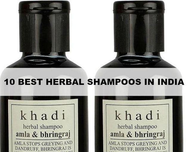 10 Les meilleurs shampoings à base de plantes en Inde