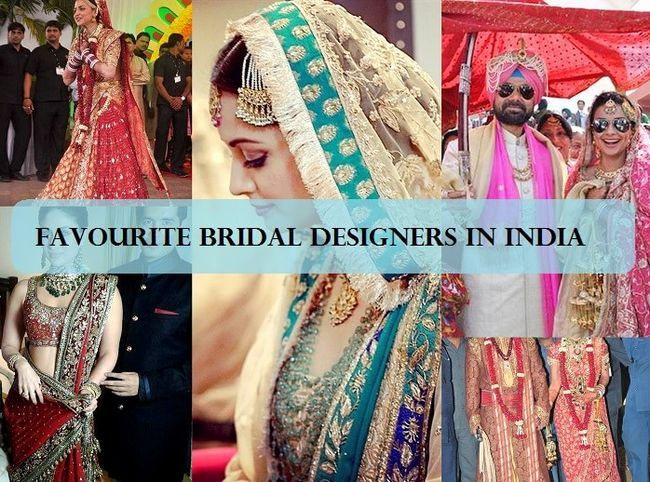 10 Meilleurs designers indiens de mariée