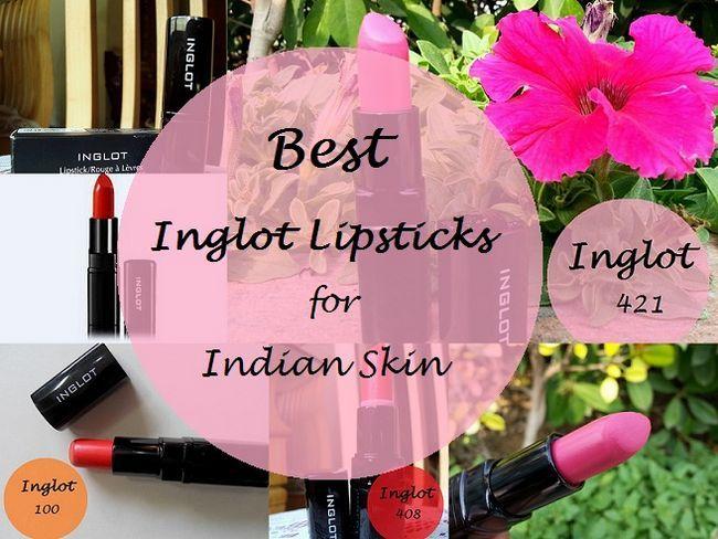 10 Les meilleurs rouges à lèvres Inglot pour les tons de peau indienne