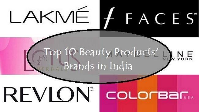 10 Meilleures marques de maquillage disponibles en Inde