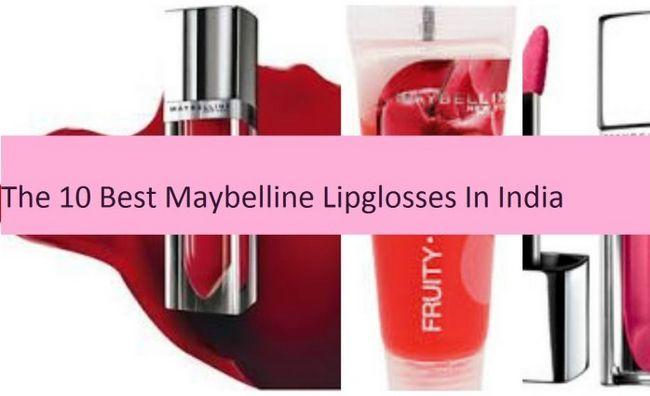 10 Meilleur lèvre Maybelline gloses disponible en Inde
