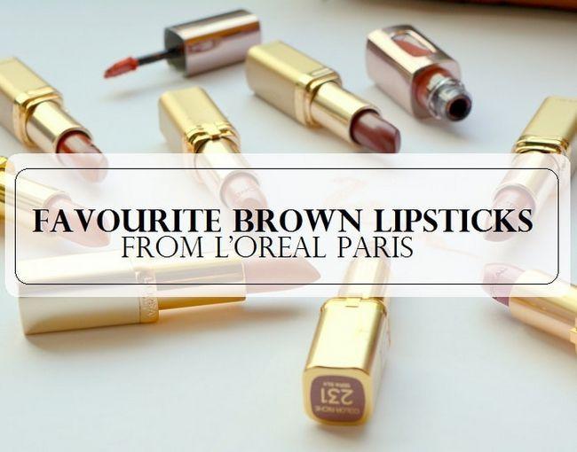 10 Les meilleurs rouges à lèvres brun nu pour la peau indienne de l`Oréal Paris