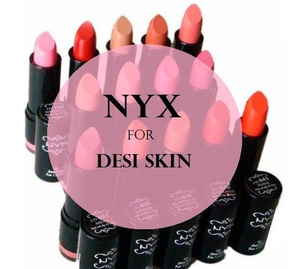 10 Les meilleurs rouges à lèvres rondes de NYX pour juste de tons de peau indien foncé