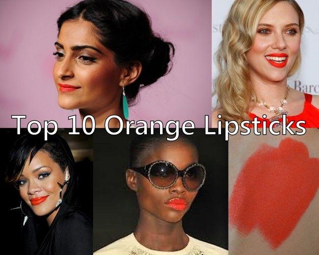 10 Les meilleurs rouges à lèvres orange pour les tons de peau indienne