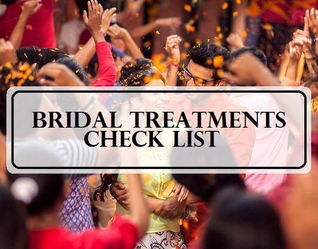 10 Les meilleurs soins de beauté pré-mariée: mariages indiens liste de contrôle