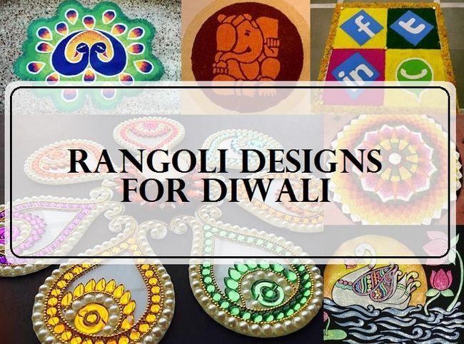 10 Meilleurs designs rangoli pour le festival de Diwali 2015