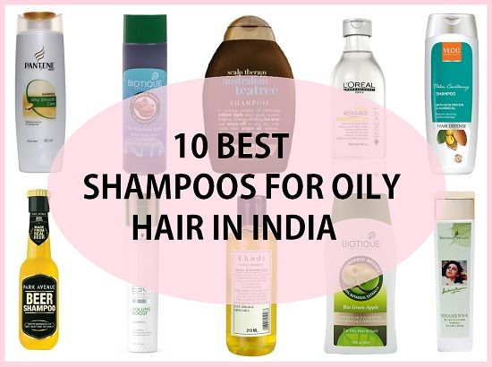 10 Les meilleurs shampooings pour cheveux gras en Inde