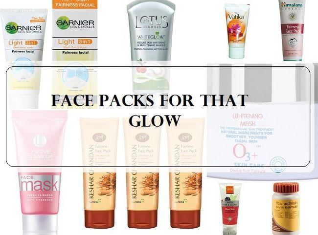10 Les meilleurs packs de visage blanchissant la peau / d`équité en Inde