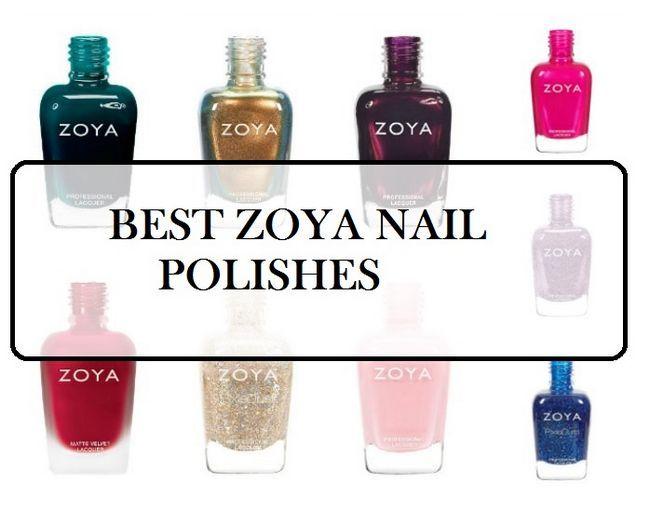 10 Meilleurs ongles Zoya nuances de vernis: les meilleures ventes