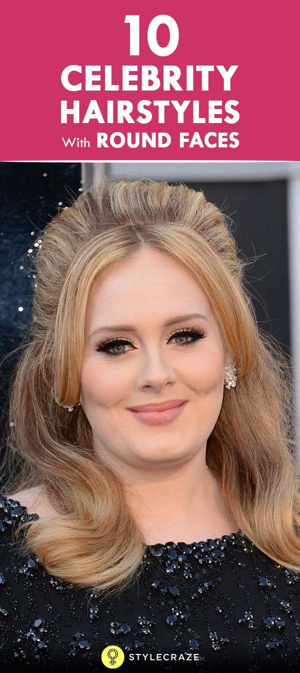 10 Coiffures de célébrités avec des visages ronds