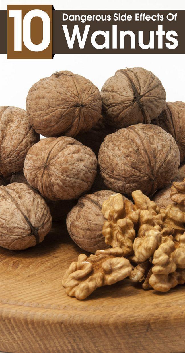 10 Effets secondaires dangereux de noix