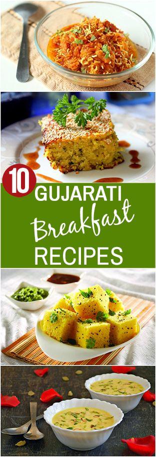 10 Délicieuses recettes de petit-déjeuner gujarati vous devez essayer