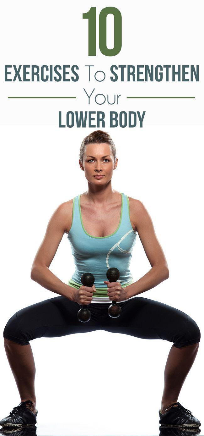 10 Exercices efficaces pour renforcer le bas du corps