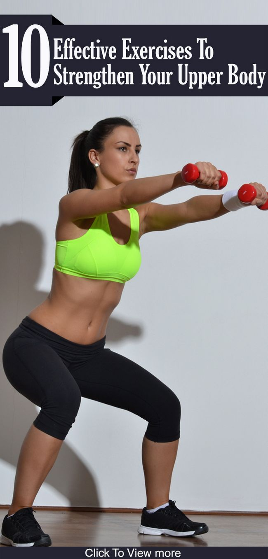10 Exercices efficaces pour renforcer le haut du corps