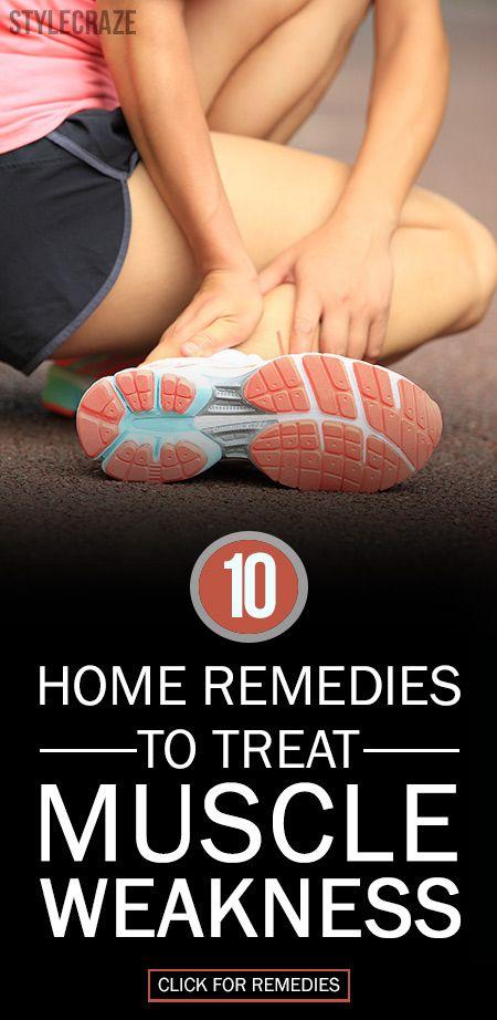 10 Remèdes maison efficace pour traiter une faiblesse musculaire