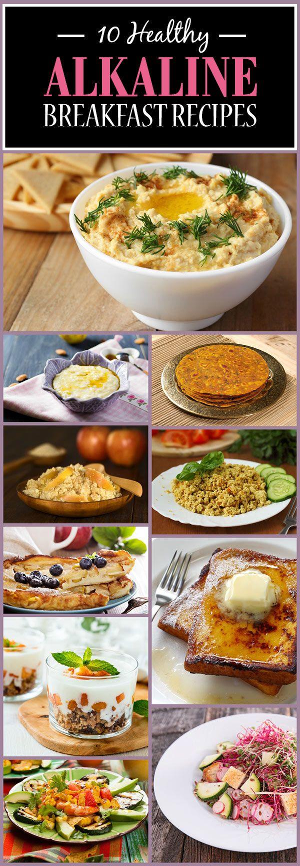 10 Recettes santé petit déjeuner alcaline vous devez essayer