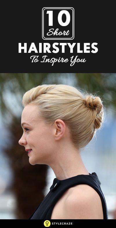 10 Nouvelles coiffures courtes pour vous inspirer