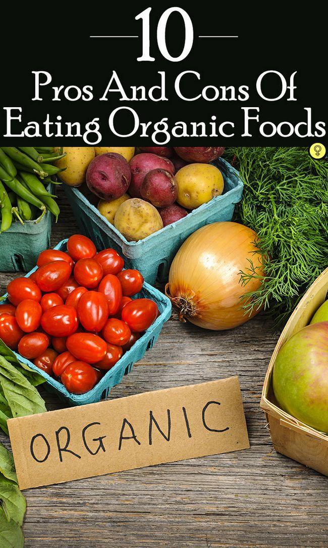 10 Avantages et inconvénients de la consommation d`aliments organiques