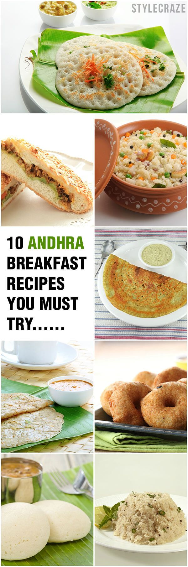 10 Recettes simples et rapides de petit-déjeuner andhra vous devez essayer