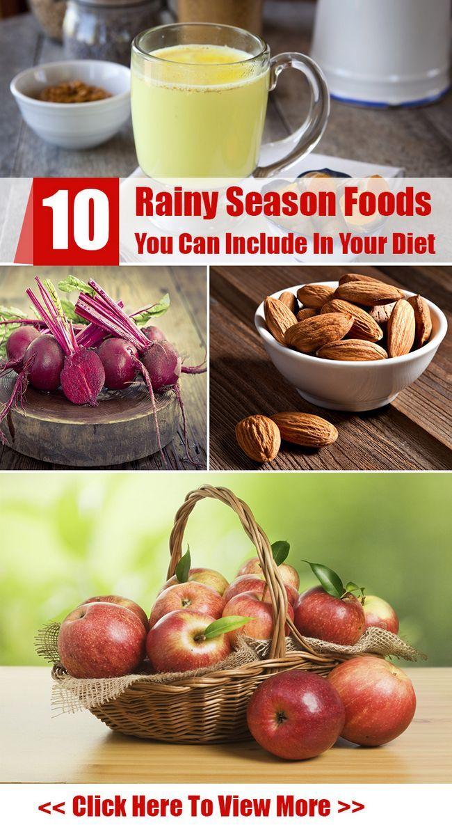 10 Aliments de la saison des pluies vous pouvez inclure dans votre alimentation