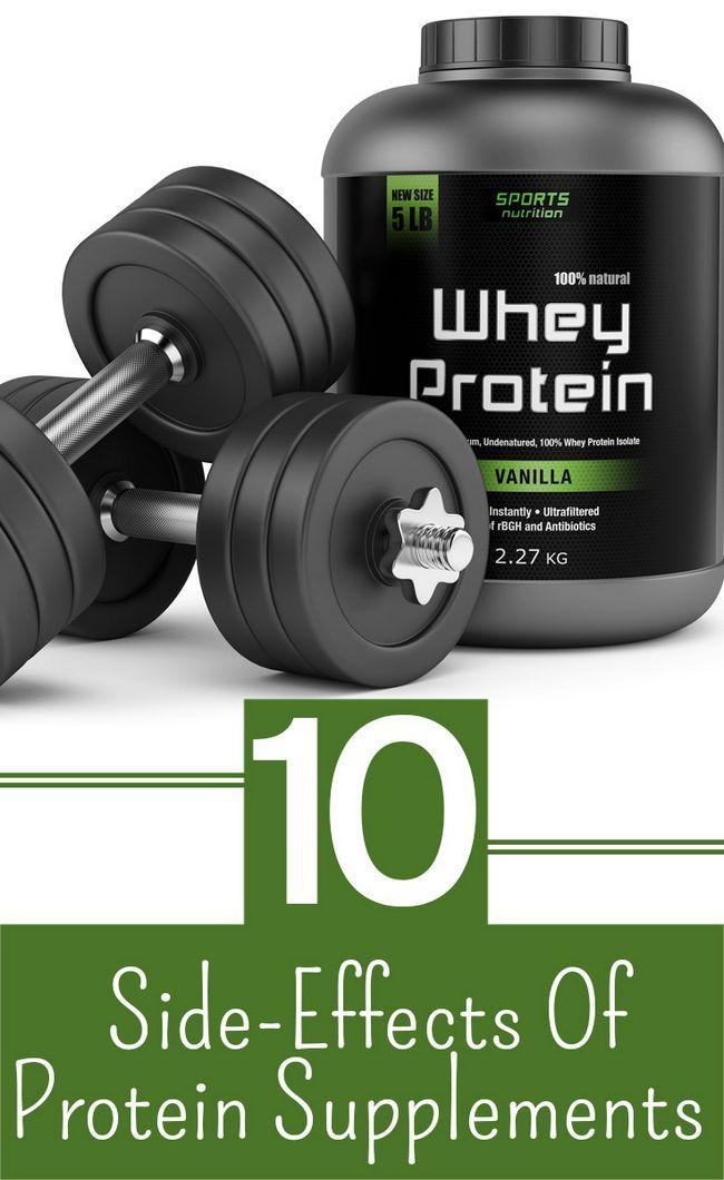 10 Les effets secondaires des suppléments de protéines que vous devriez être au courant