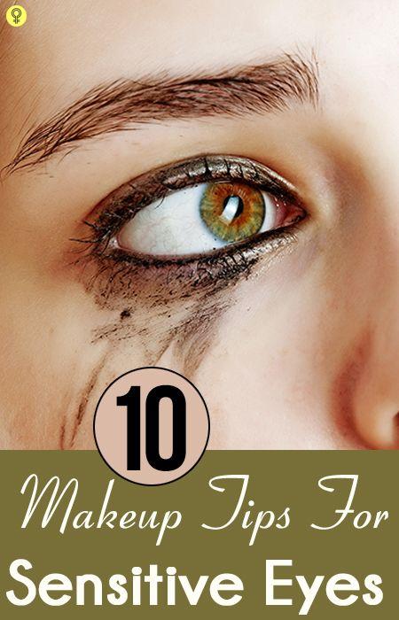 10 Conseils de maquillage pour les yeux sensibles simples