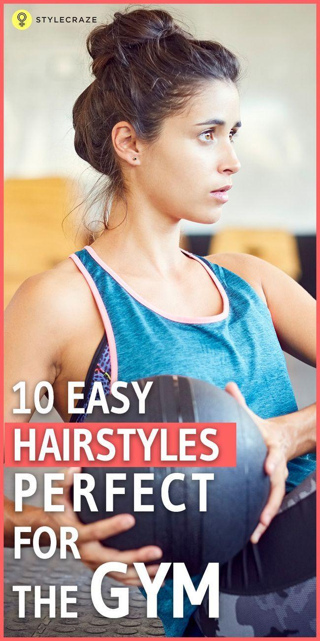 10 Coiffures sportifs de gymnastique pour les cheveux courts