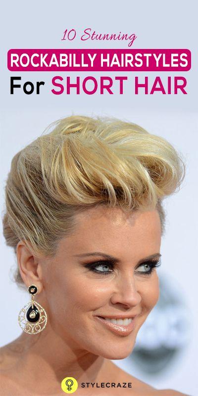 10 Coiffures rockabilly superbes pour les cheveux courts