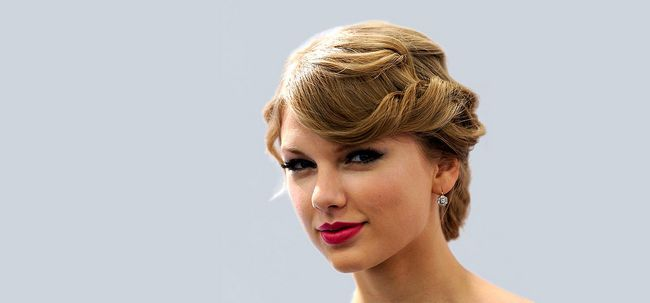 10 Taylor superbes coiffures updo rapide