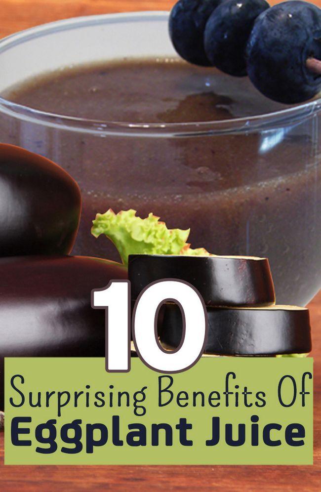 10 Avantages surprenants de jus d`aubergines