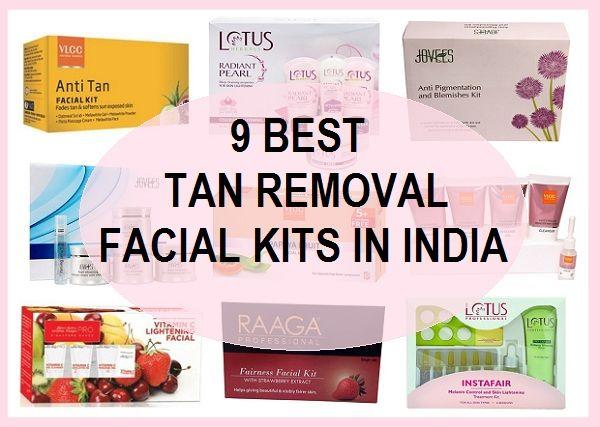Top 10 des meilleurs kits du visage pour le bronzage, des taches sombres et de l`équité en Inde