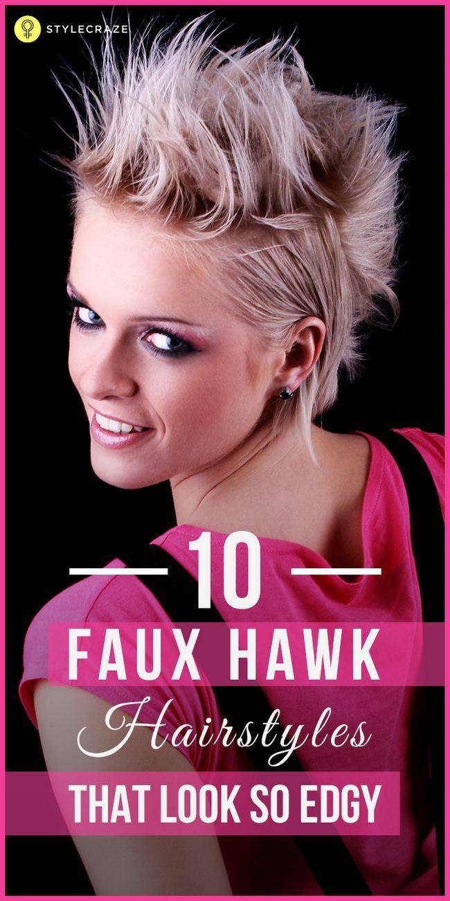 10 Coiffures à la mode de faucon faux, vous pouvez essayer aujourd`hui