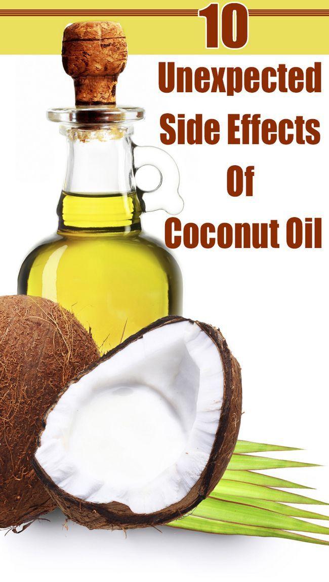 10 Effets secondaires inattendus de l`huile de noix de coco