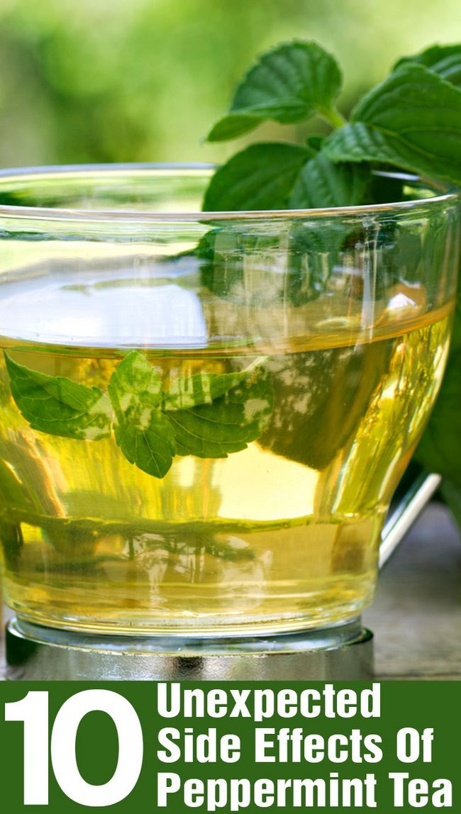 10 Effets secondaires inattendus de thé à la menthe