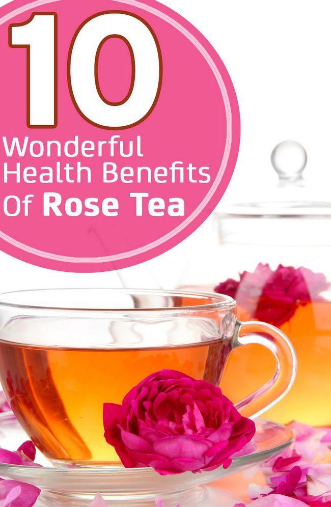10 Avantages pour la santé merveilleux de thé rose