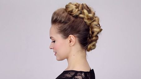 10 Youtube coiffures updo pour vous inspirer